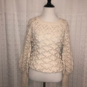 Ivory Sweater- Chelsea & Violet
